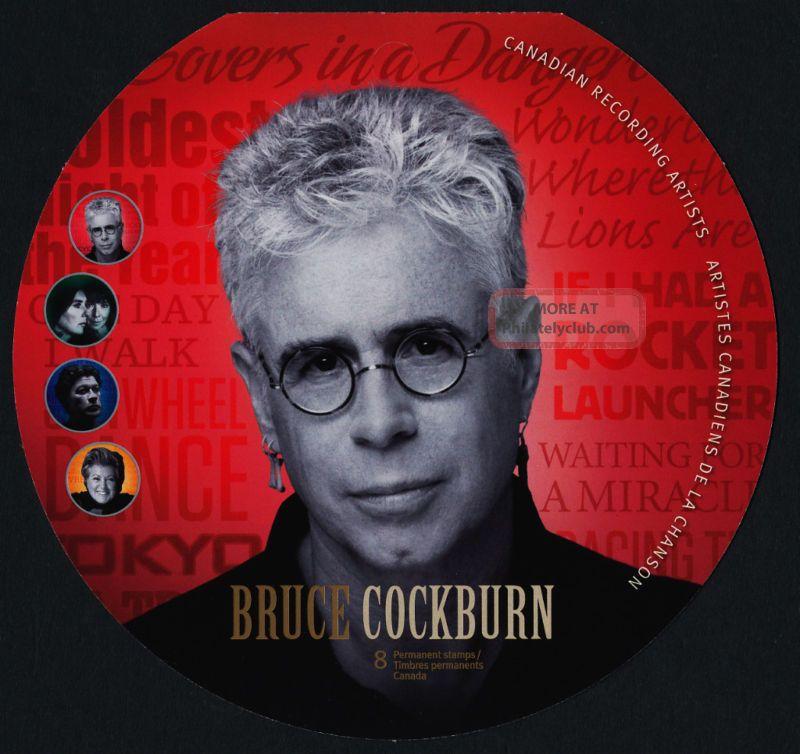Canada 2483 Booklet Bk460 Bruce Cockburn,  Music Canada photo