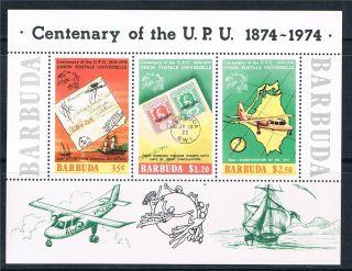 Barbuda 1974 Cent U.  P.  U.  Ms Sg 180 photo