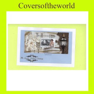 Norfolk 1999 Queen Mother Century M/s First Day Cover photo
