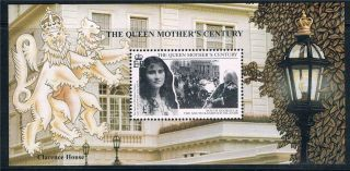 South Georgia 1999 Queen Mothers Century Ms 293 photo