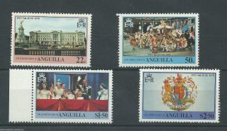 Anguilla - 1978 - Sg320 To Sg323 - Cv £ 0.  60 - Unmounted photo