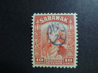 Malaya / Sarawak Japanese Occupation 1942 / 1943 Revenue Stamp 10c photo