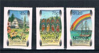 Norfolk Is 1994 Christmas Sg 580/2 photo