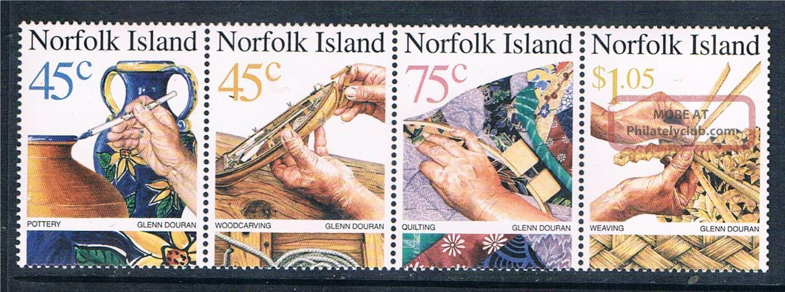 Norfolk Is 1999 Handicrafts Sg 708/11 British Colonies & Territories photo