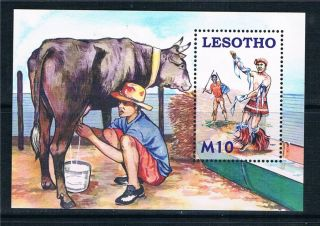 Lesotho 2006 Herd Boys Ms Sg 2001 photo