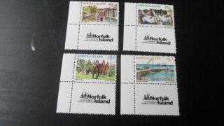 Norfolk Island 1996 Sg 624 - 627 Tourism photo