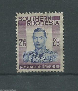Southern Rhodesia - 1937 - Sg51 - Cv £ 8.  00 - photo