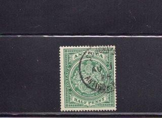 Antigua 1908 Scott 31 photo