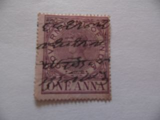 Queen Victoria Government Of India Stamp (freepost Uk Only) photo