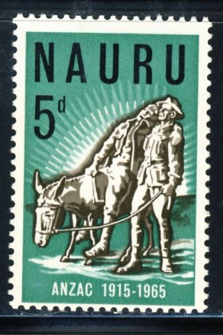 1965 Nauru Common Design Stamp