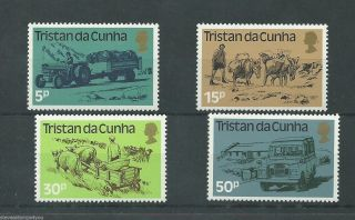 Tristan Da Cunha - 1983 - Sg345 To Sg348 - Cv £ 0.  75 - Unmounted photo