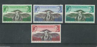 Tristan Da Cunha - 1967 - Sg109 To Sg112 - Cv £ 0.  45 - Unmounted photo
