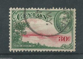 Ceylon - 1945 - Sg393a - Cv £ 7.  00 - photo