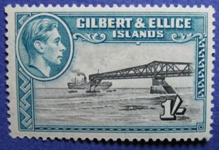 1939 Gilbert Ellice Is 1s Scott 48 Sg 51 Cs06908 photo