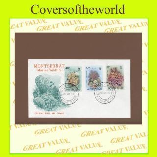 Montserrat 1979 Marine Wildlife First Day Cover photo