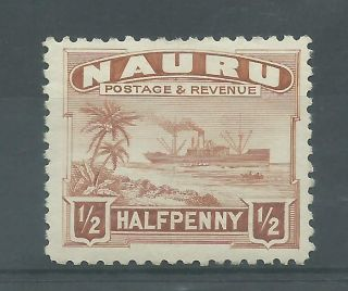 Nauru - 1937 To 1948 - Sg26b - Cv £ 4.  00 - Mounted photo