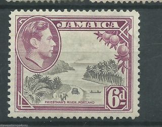 Jamaica - 1938 - Sg128 - Cv £ 7.  50 - No Gum photo