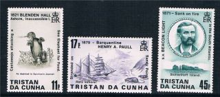 Tristan Da Cunha 1987 Shipwrecks Sg426/8 photo