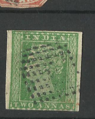 India - 1854 - 2as Litho Fine 3 Margin photo