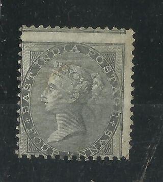 India - 1856 - Qv - Sg No 45 - V.  Vl M/m Cv 650 Gbp photo