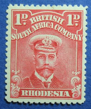1924 Rhodesia 1d Scott 120f S.  G.  286 Cs09807 photo