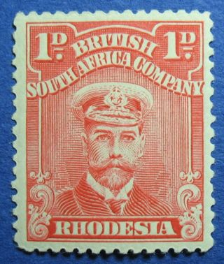 1923 Rhodesia 1d Scott 120i S.  G.  285 Cs09810 photo