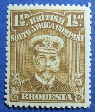 1919 Rhodesia 1 1/2d Scott 121b S.  G.  206 Nh Cs09815 photo