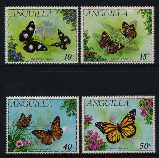 Anguilla 123 - 6 - Butterflies,  Flowers photo