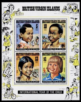 Virgin Islands 359a International Year Of The Child photo