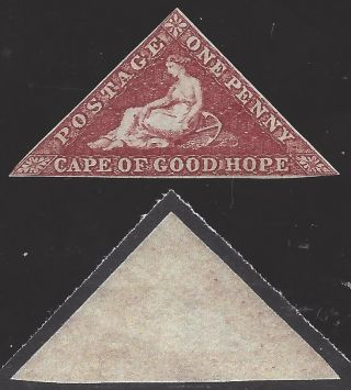 Cape Of Good Hope (british) 1855 Sct 3b Sg 5,  No Gum