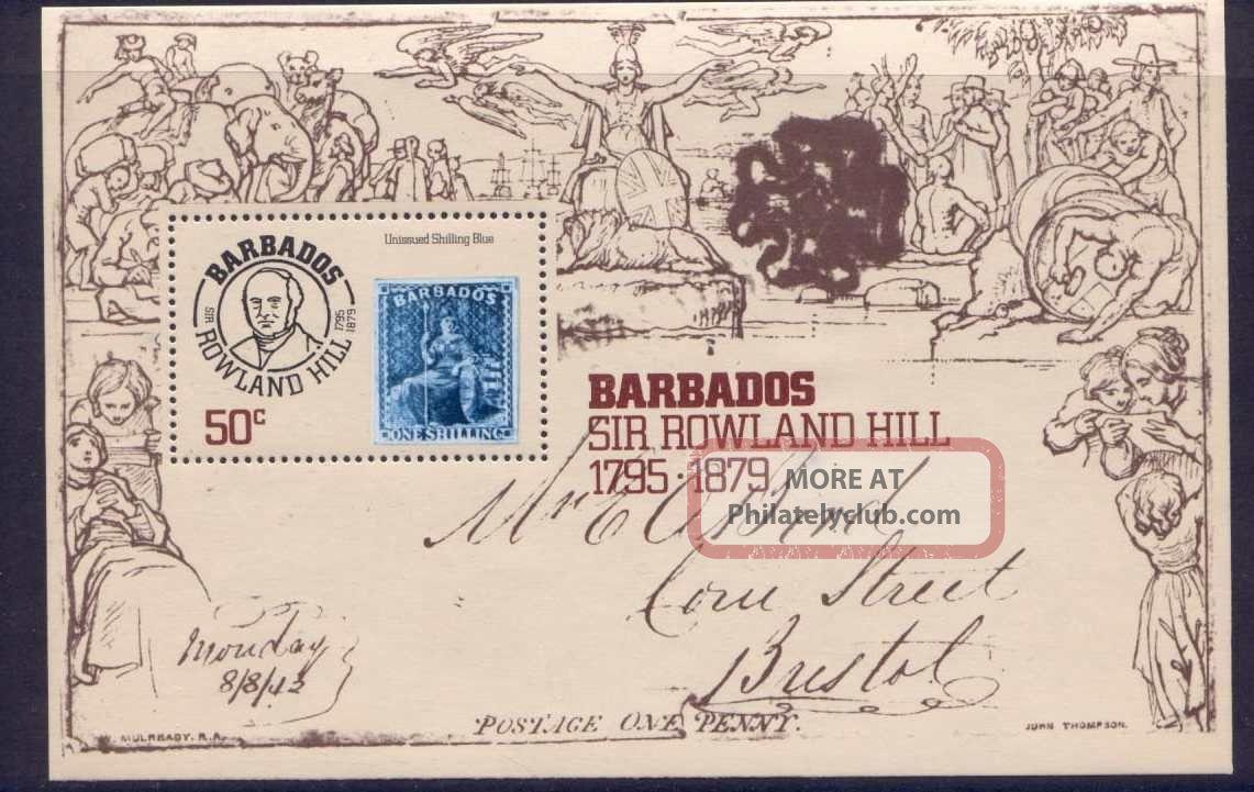 Barbados 494 Stamp On Stamp British Colonies & Territories photo