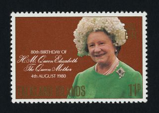 Falkland Islands 305 Queen Mother,  80th Birthday photo