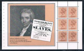 Gb 1984 Dx5 Prestige Booklet Slaves Pane X901m photo