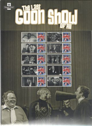 Cs18 The Last Goon Show Of All Royal Mail Commemorative Smilers Type Sheet photo