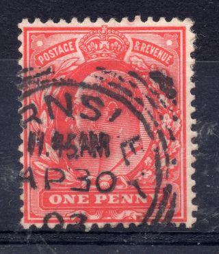Gb = Postmark - E7,  `barnsley` Squared Circle 1903 photo