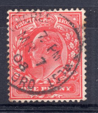 Gb = Postmark - E7,  `chorle (ywood) West /. .  Ford` Single Ring photo