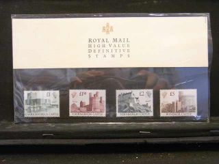 R155 Gb 1988 Castles High Values Presentation Pack (po Pack No 18) Cat £35 photo