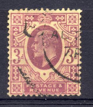 Gb = Postmark - E7,  `fen (church St.  B.  O. ,  E.  C. ) ` Hooded Single Ring On 3d photo