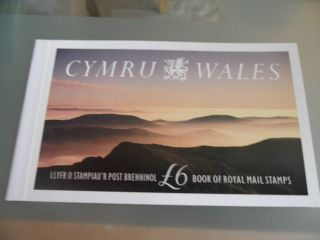 Cymru Wales,  With Text And Illustrations,  Prestige Stamp Booklet photo