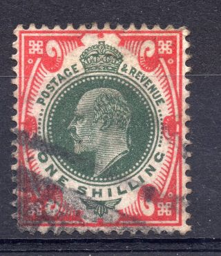 Gb = Postmark - E7,  `indistinct` Parcel Roller Cancel On 1/ - Value. photo