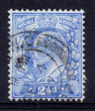 Gb = Postmark - E7,  `london W.  C.  ` Thick Arcs 1907 photo
