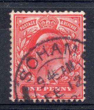 Gb = Postmark - E7,  `soham` Thick Arcs 1902 photo