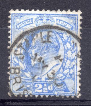 Gb = Postmark - E7,  `staple (hill) R (oad S.  O. ) 7 / Bristol` Single Ring photo