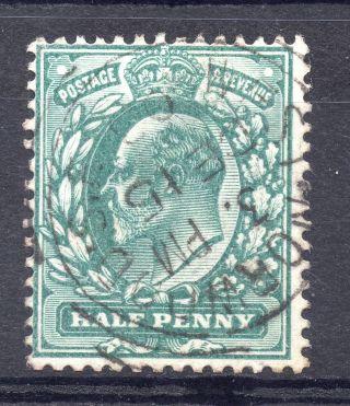 Gb = Postmark - E7,  `west Norwood S.  E.  ` Squared Circle 1903 photo
