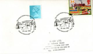 20 July 1993 Inland Waterways Cover Market Harborough Shs (a) photo