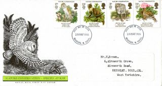 20 May 1986 Nature Conservation Royal Mail First Day Cover Bradford Fdi photo