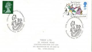9 November 1993 Christmas First Day Cover A Christmas Carol Broadstairs Shs photo