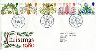 19 November 1980 Christmas Post Office First Day Cover Bethlehem Shs (w) photo