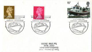 16 October 1993 Naming Of The Lifeboat Girvan Ayrshire Cover photo