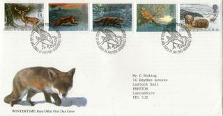 14 January 1992 Wildlife Royal Mail First Day Cover Bureau Shs photo